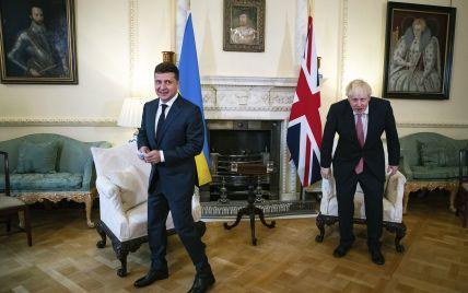 """""""Нехай щастить у Римі, синьо-жовті"""": Зеленський попередив Джонсона, що цього разу не підтримає Англію"""