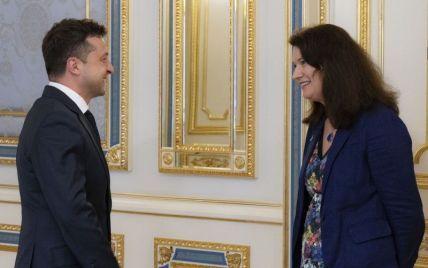 Зеленский встретился с действующим председателем ОБСЕ: о чем говорили