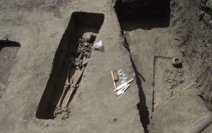 У Київській області знайшли давнє поховання