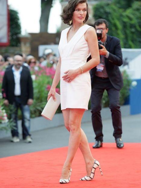 Мила Йовович на Венецианском кинофестивале, сентябрь 2014 года / © Getty Images/Fotobank