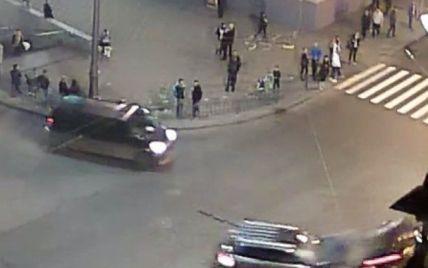 Опубликовано видео кровавой аварии в Харькове