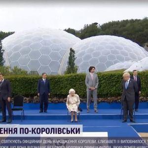 """Саммит в Великобритании: королева Елизавета встретилась с лидерами """"Большой семерки"""""""