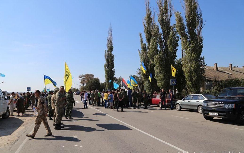 У Криму стартувала безстрокова блокада півострова. / © Громадське ТБ