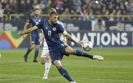 Лидер сборной Боснии и Герцеговины о матче с Украиной: лучшим результатом будет наша победа в два гола