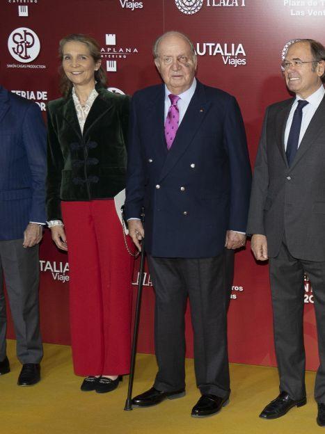 Принцеса Олена і король Хуан Карлос / © Getty Images