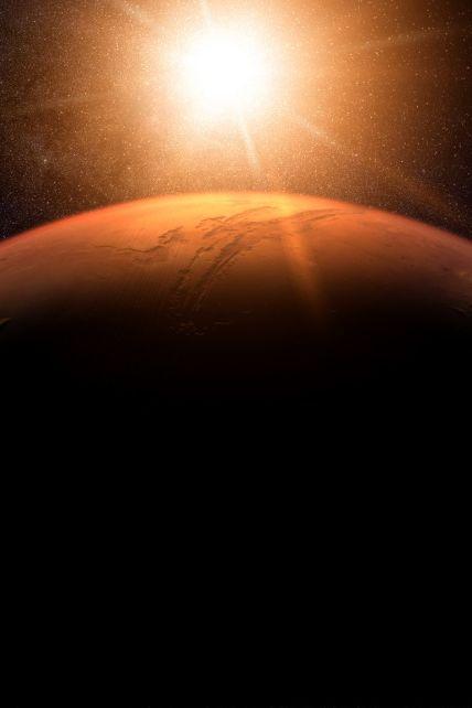 Прическа Трампа, огромный пенис и знак из Стар Трека: 10 самых странных снимков поверхности Марса