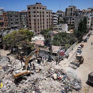 Ізраїль пояснив, чому обстріляли вежу з офісами ЗМІ в Секторі Гази