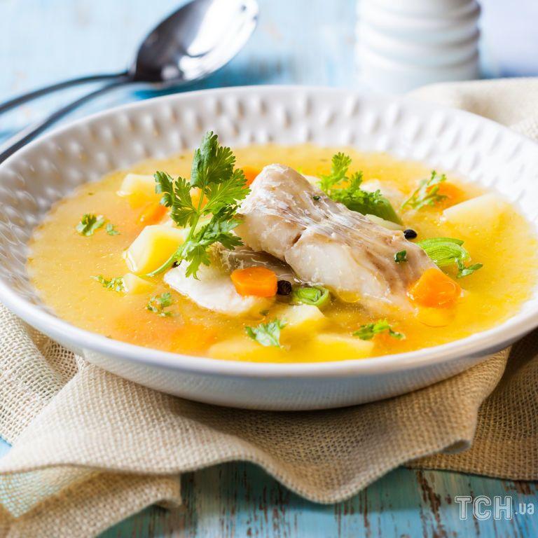 Рецепт рибного супу із судака