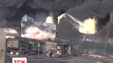 Найдено три тела спасателей на нефтебазе