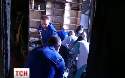 В детской больнице ОХМАТДЕТ произошел пожар