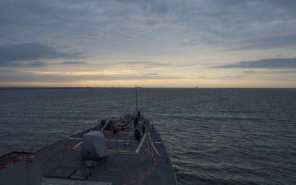 Сегодня в Черное море войдет американский ракетный эсминец