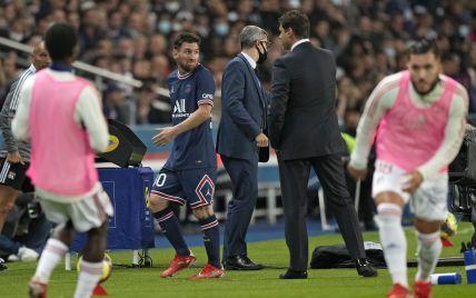 Во Франции назвали причину замены Месси, из-за которой он побил горшки с тренером ПСЖ