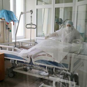 Коронавирус в Украине: в 8 областях превышен уровень госпитализации больных COVID-19