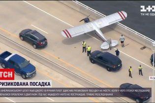 Новости мира: в США 18-летний пилот безопасно посадил поврежденный самолет на мосту