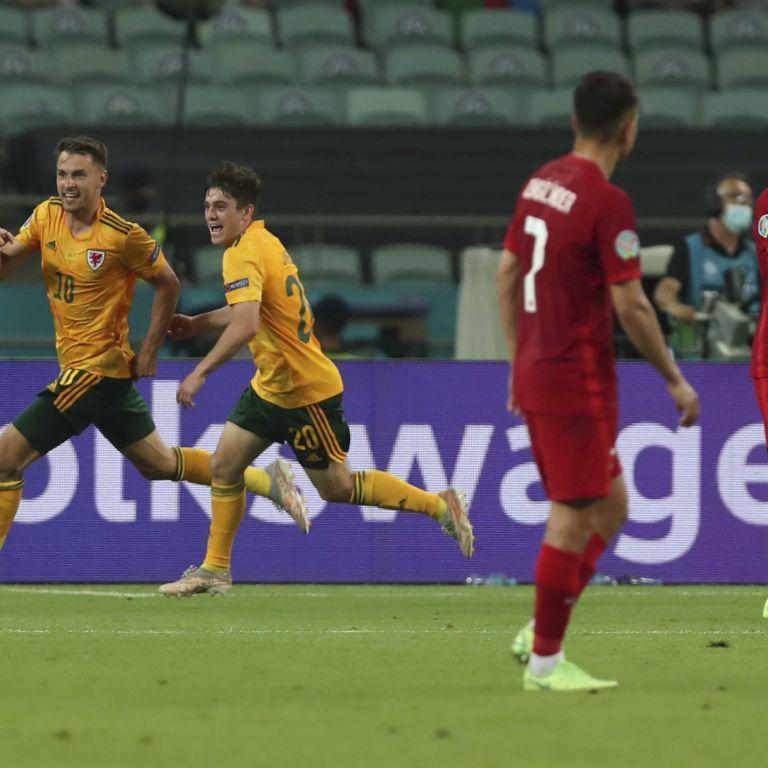 Серьезный шаг к 1/8 финала: сборная Уэльса обыграла Турцию и вышла в лидеры группы A на Евро-2020
