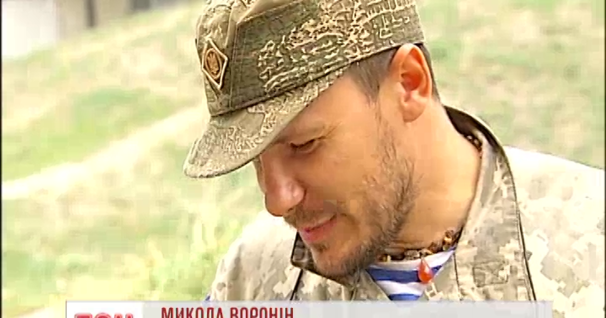 «Киборг» вынес уцелевший монитор из Донецкого аэропорта
