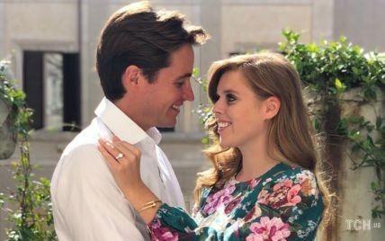"""Празднуют годовщину: как принцесса Беатрис сказала """"да"""" Эдоардо Мапелли-Моцци"""