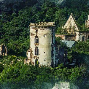 Чудеса Украины, о которых вы не знали. Загадочный Червоногородский замок на Тернопольщине