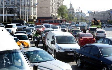 Генеральный план Киева предусматривает постепенное введение платного въезда в центр столицы