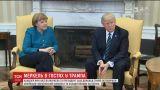 В США Меркель и Трамп обсудили российско-украинский конфликт