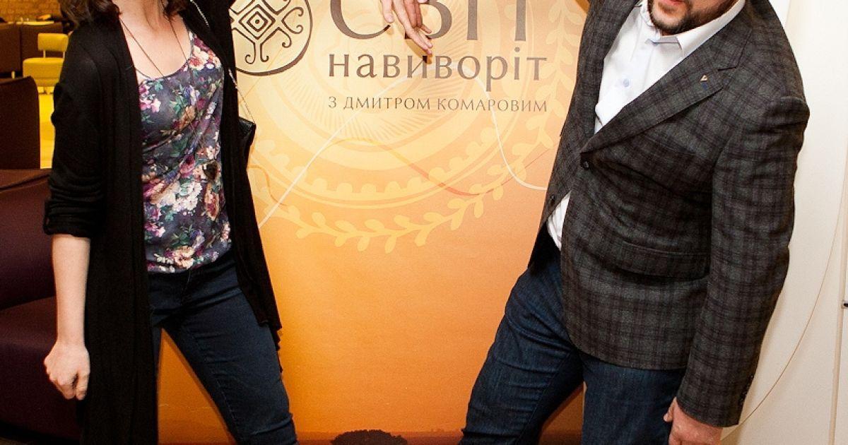 """Комаров презентовал новый сезон """"Мира наизнанку"""" / © пресс-служба канала 1+1"""