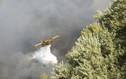 На западе Испании массово эвакуируют людей из-за лесных пожаров
