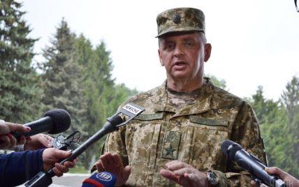 Начальник Генштаба Муженко попал под обстрел в зоне АТО