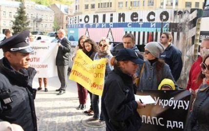 Жители Воздвиженки начали бессрочную акцию протеста против строительства депутата от УДАРа