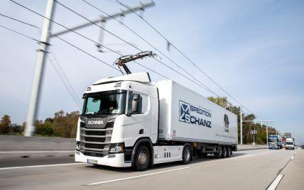 Siemens разрабатывает электрические линии для зарядки грузовиков