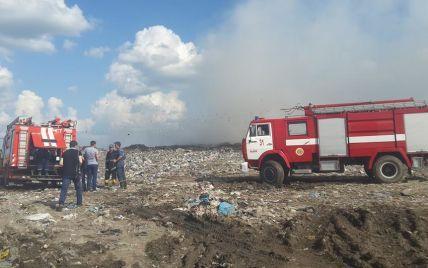 """Под Львовом второй день горит """"экологическая бомба"""" для региона"""