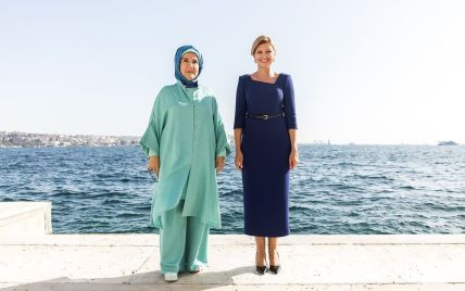 Повторила образ: Олена Зеленська зустрілася з першою леді Туреччини