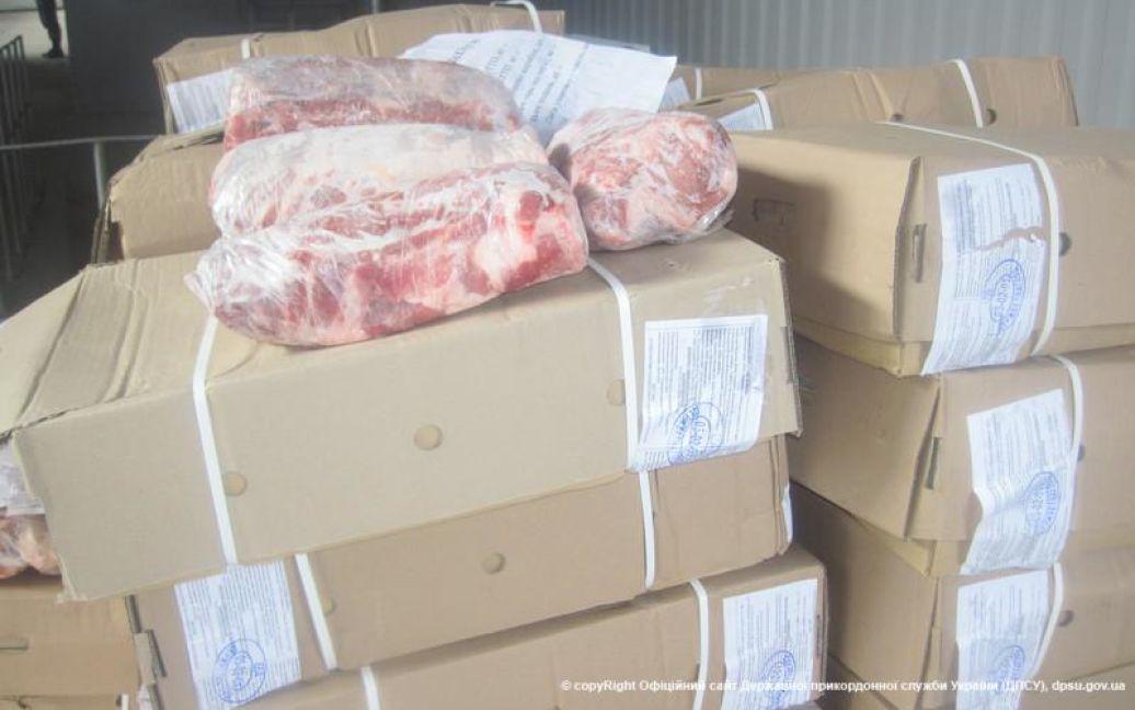 Пограничники остановили поставки мяса боевикам / © Госпогранслужба Украины