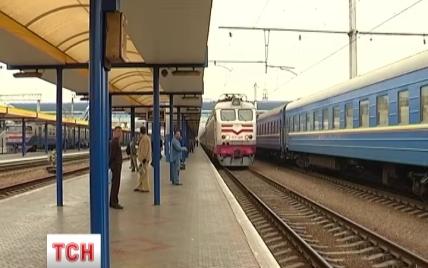 ТСН у прямому ефірі показала від'їзд останнього потяга із Києва до Криму