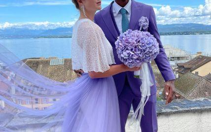 Свитолина и Монфис поженились: яркие свадебные фото