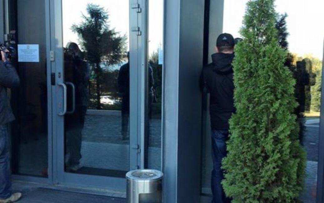 Обыски проходят в офисе нардепа Бориса Филатова / © Ольга Павловська/ТСН