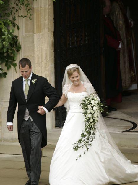 Свадьба Питера Филлипса и Отэм Келли / © Associated Press