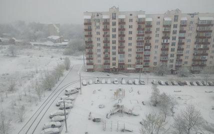 Зима посреди весны: как Украину засыпало снегом в последнюю неделю апреля (фото, видео)