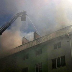 Пожар в многоэтажке на Киевщине скрыл следы страшного преступления