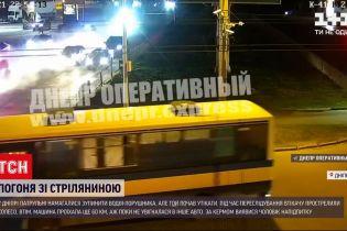 Новини України: у Дніпрі нетверезий водій, втікаючи від копів, протаранив, інше авто