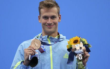 Четверта медаль України у Токіо: як нагороджували плавця-рекордсмена Романчука