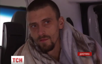 Журналісти ТСН зафільмували звільнення полонених на окупованій частині Донбасу