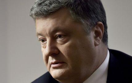 Порошенко поручил Генштабу и Минобороны прекратить огонь на Донбассе с апреля