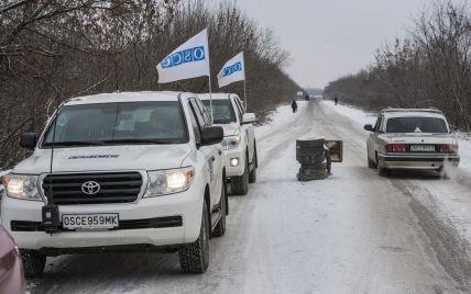"""Бойовики у балаклавах з нашивками """"Новоросія"""" вчинили збройну провокацію проти місії ОБСЄ на Донбасі"""