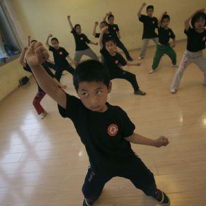 В Китае в школе боевых искусств произошел пожар: погибли дети
