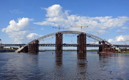 Кличко видит Подольский мост открытым для проезда уже за три года