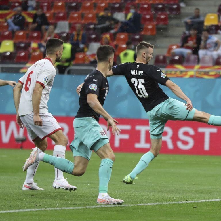 Соперники Украины по группе: сборная Австрии вырвала победу у Северной Македонии в матче Евро-2020
