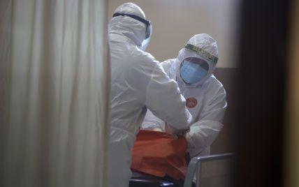 У двох областях України перевищений рівень госпіталізації хворих на коронавірус
