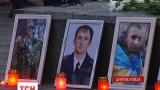 В Днепропетровске почтили память погибших в небе над Луганском десантников и летчиков