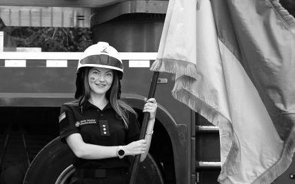 В Днепре попрощались с погибшей в результате взрыва авто Дарьей Гречищевой