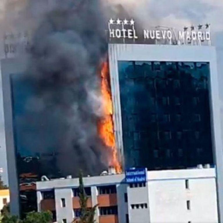 Поряд з Мадридом палав елітний готель: дві сотні людей евакуювали